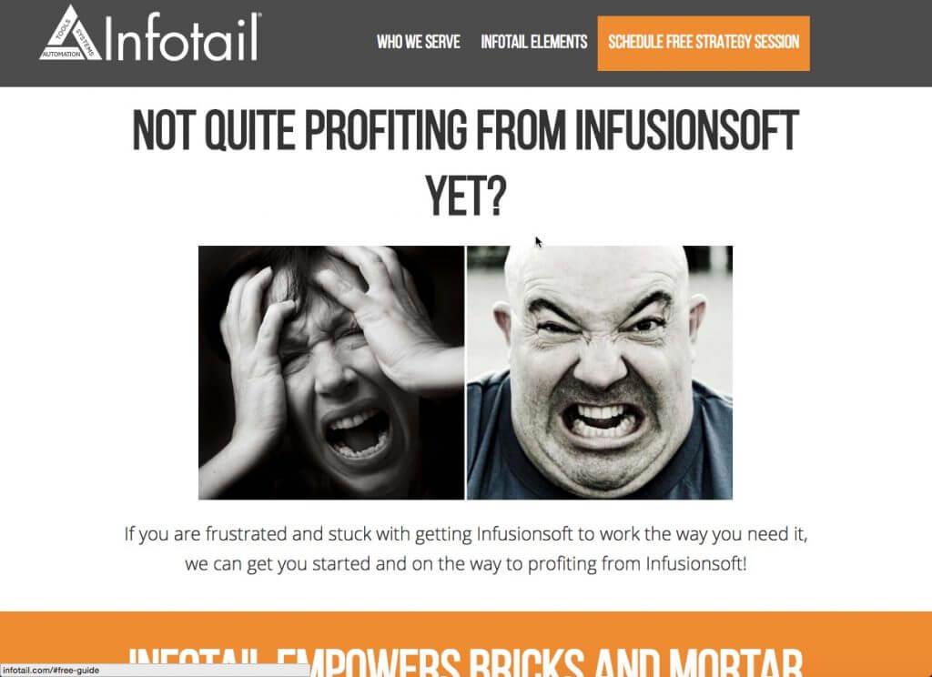 After image of infotail.com screen shot